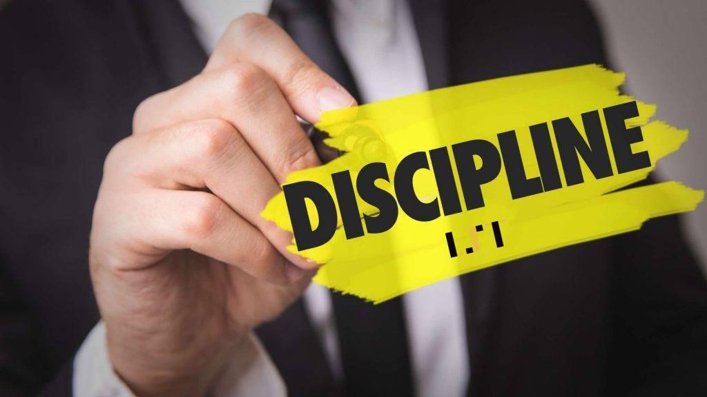 Învață cum să fi disciplinat în tranzacționare
